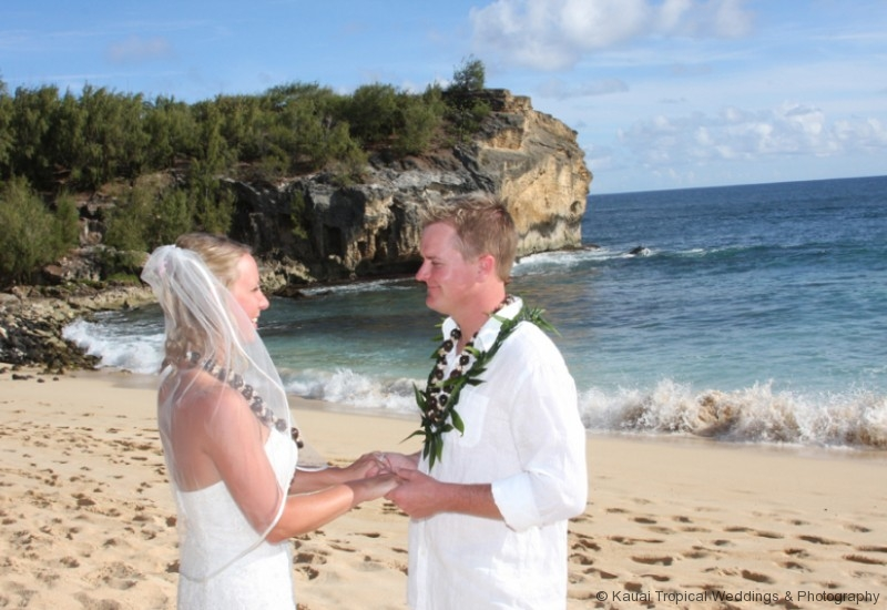 It Was An Absolutely Gorgeous Day And Shipwrecks Makes For A Stunning Beach Wedding Location If You Are Looking In The Poipu Area Of Kauai