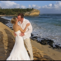 Shipwreck Beach Wedding