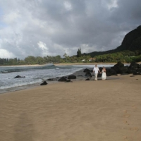 Haena Beach Wedding