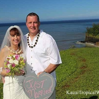 Kauai Tropical Wedding Location