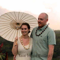 Sunset Wedding on Kauai