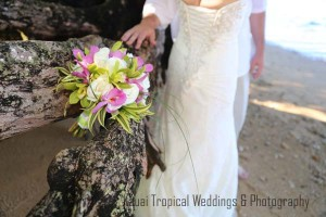Tropical Bouquet for a Beach Wedding