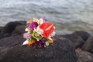 Mixed Tropical Flowers Bouquet